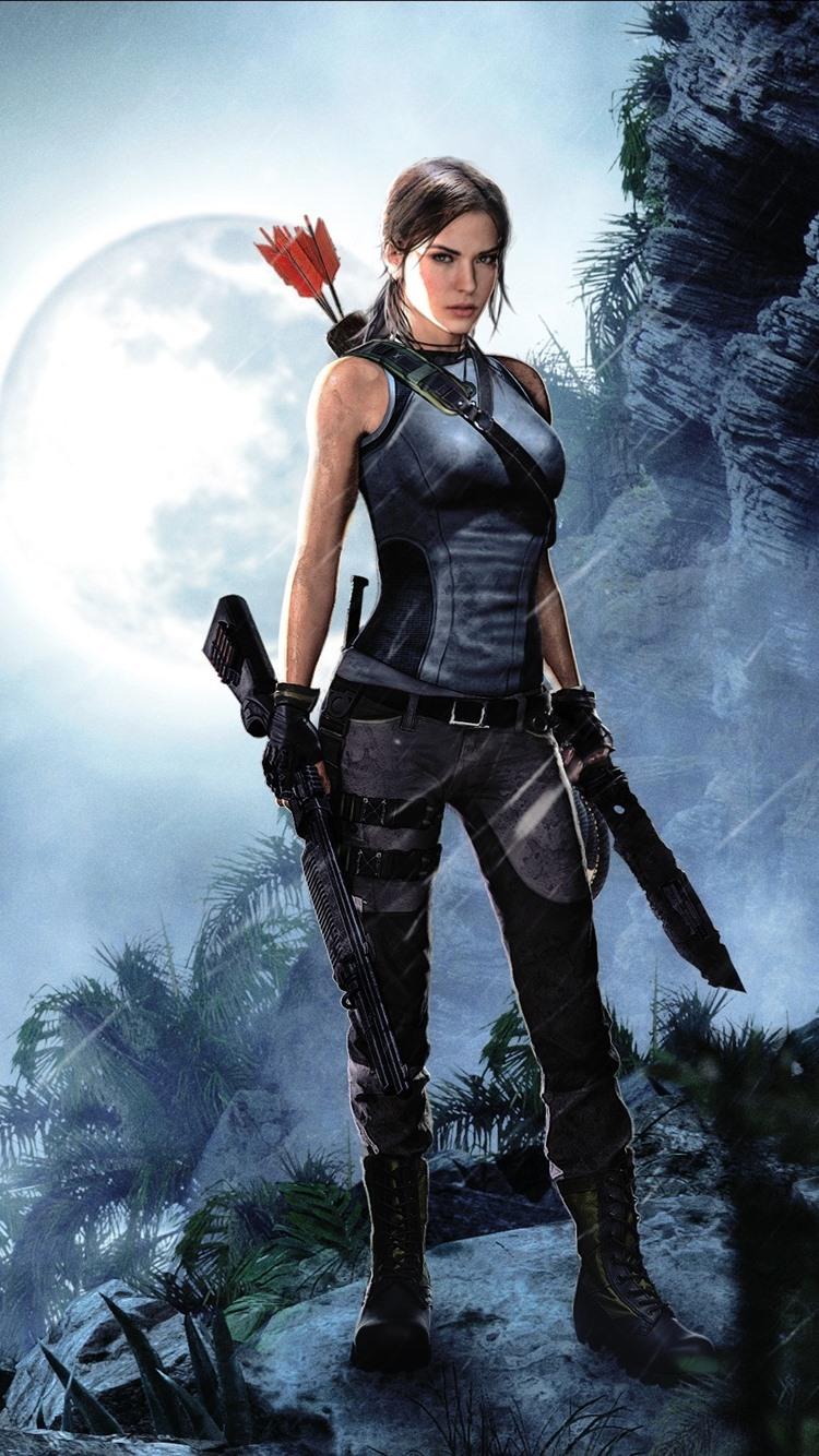 Shadow Of The Tomb Raider Lara Croft 750x1334 Iphone 8 7 6