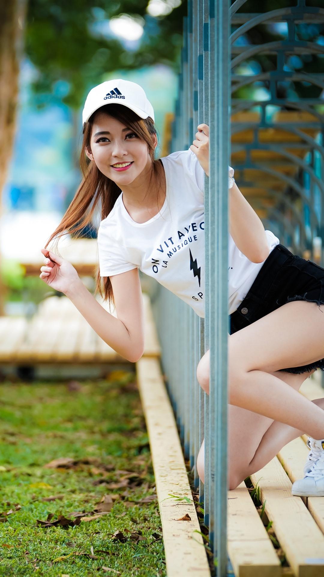 Wallpaper Smile Asian Girl Channel 3840x2160 Uhd 4k
