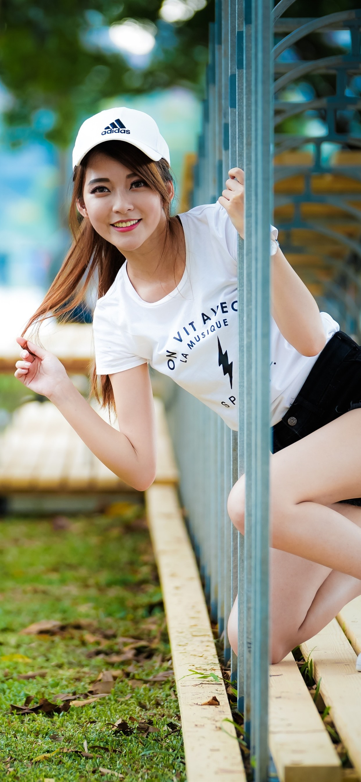 Smile Asian Girl Channel 1242x2688 Iphone 11 Pro Xs Max Wallpaper Background Picture Image