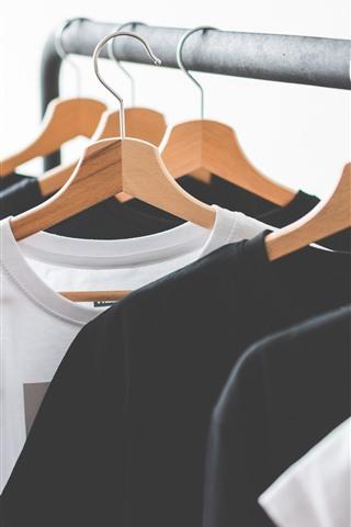 iPhone Wallpaper T-shirt, hanger