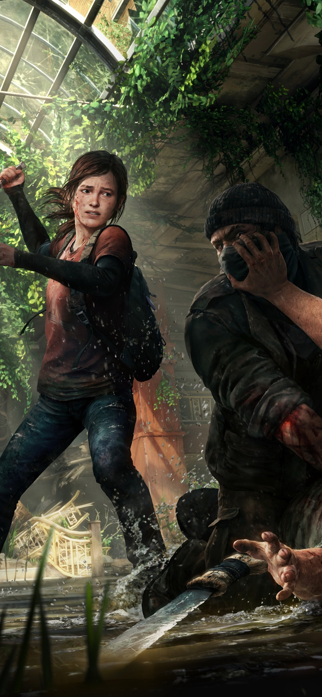 The Last Of Us Ellie Game 1125x2436 Iphone 11 Pro Xs X Wallpaper