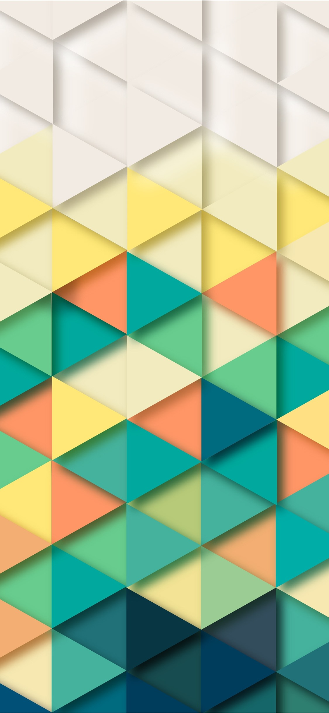 Triangles Geometry Abstract Background 1125x2436 Iphone Xs