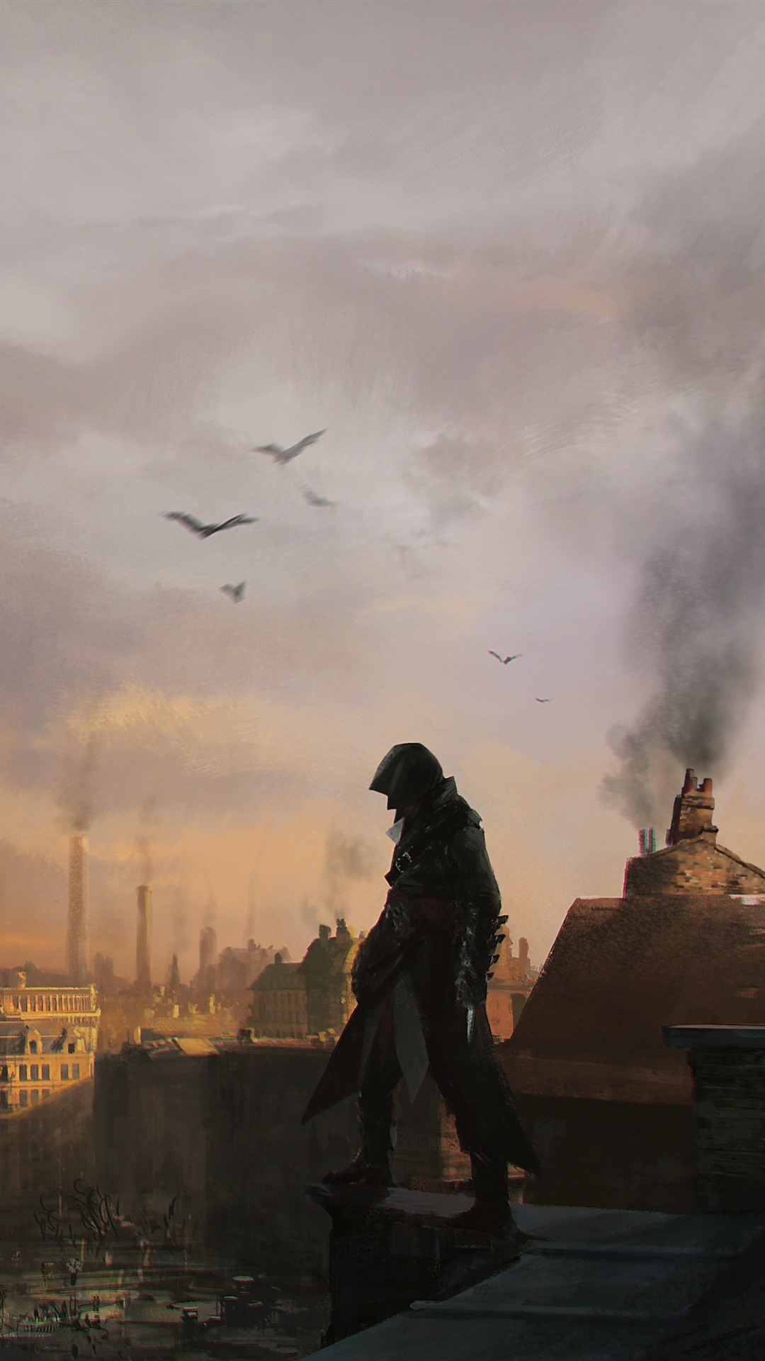 Assassin S Creed Syndicate London Art Picture 1125x2436