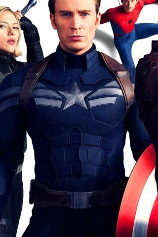 iPhone Wallpaper Avengers 3, 2018 Marvel movie