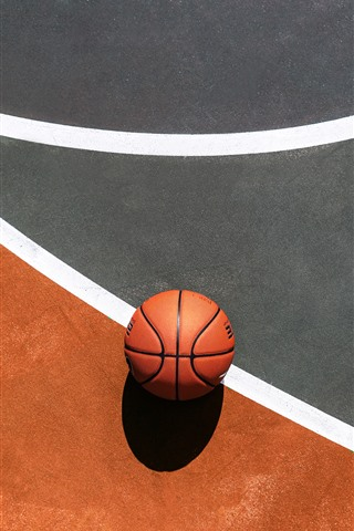 iPhone Wallpaper Basketball, ground