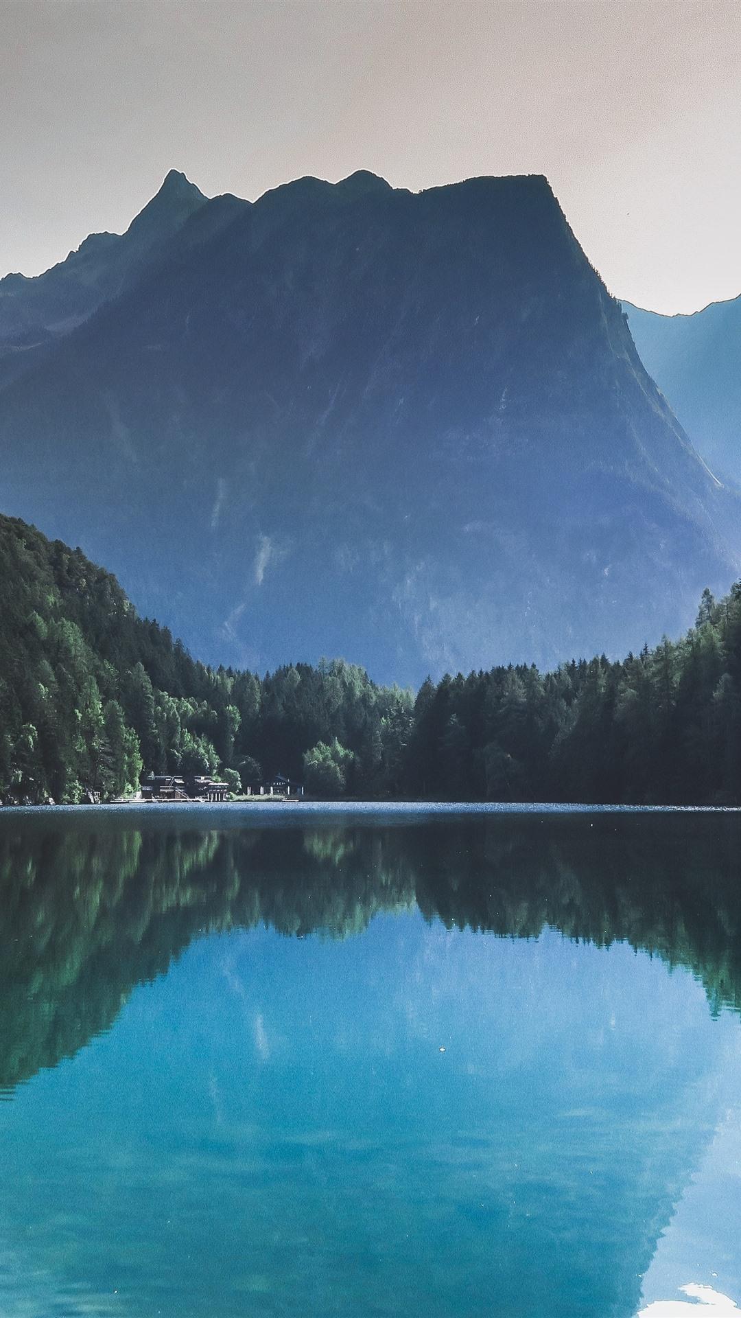 Wallpaper Beautiful Nature Landscape Forest Lake Water