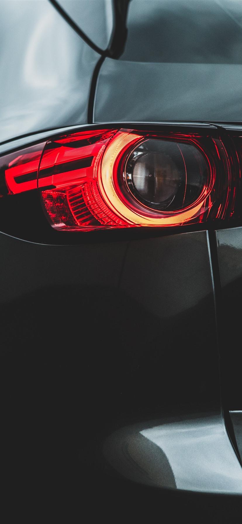 車のリアビュー バックライト 1242x26 Iphone 11 Pro Xs Max 壁紙 背景 画像