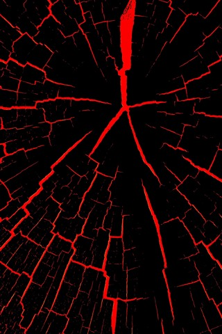 Cracks Black And Red Abstract 1242x2688 Iphone Xs Max