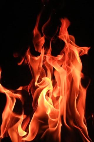 Fondo de pantalla para iphone de fuego