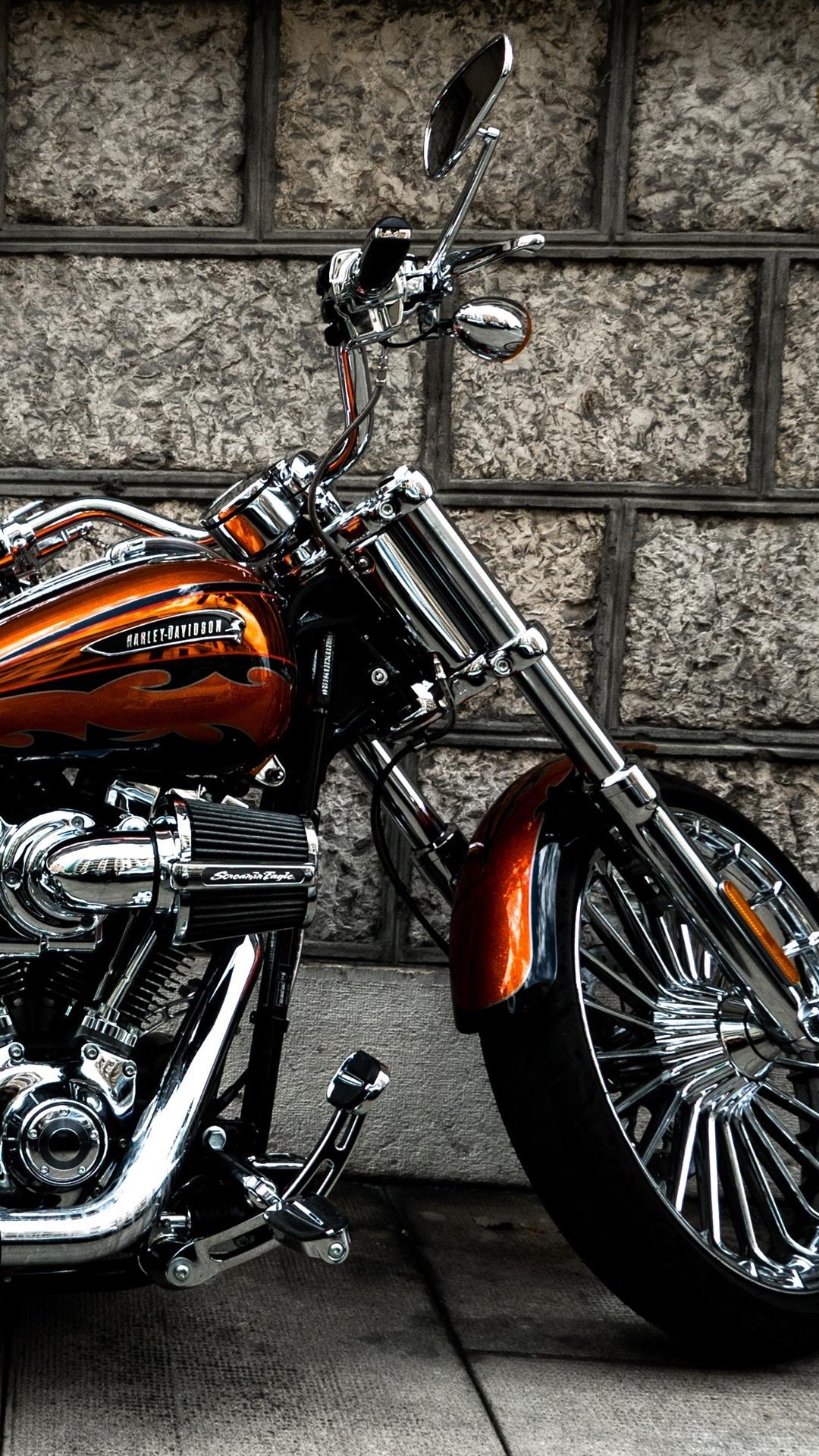 壁紙 ハーレーダビッドソンオートバイ 側面図 3840x2160 Uhd 4k 無料のデスクトップの背景 画像