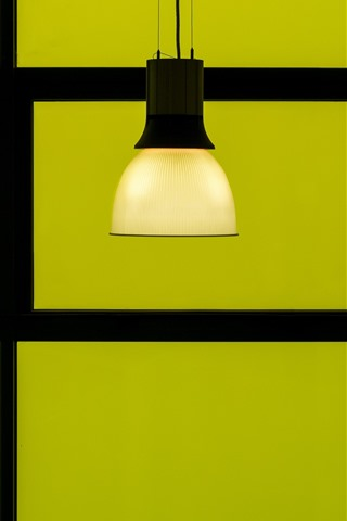 iPhone Wallpaper Lamp, green background