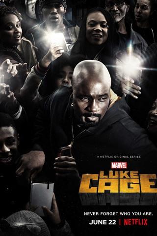 iPhone Wallpaper Luke Cage, TV series season 2