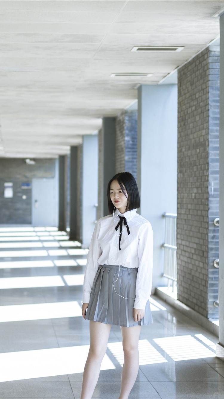 Wallpaper School Girls Photography 3840x2160 Uhd 4k