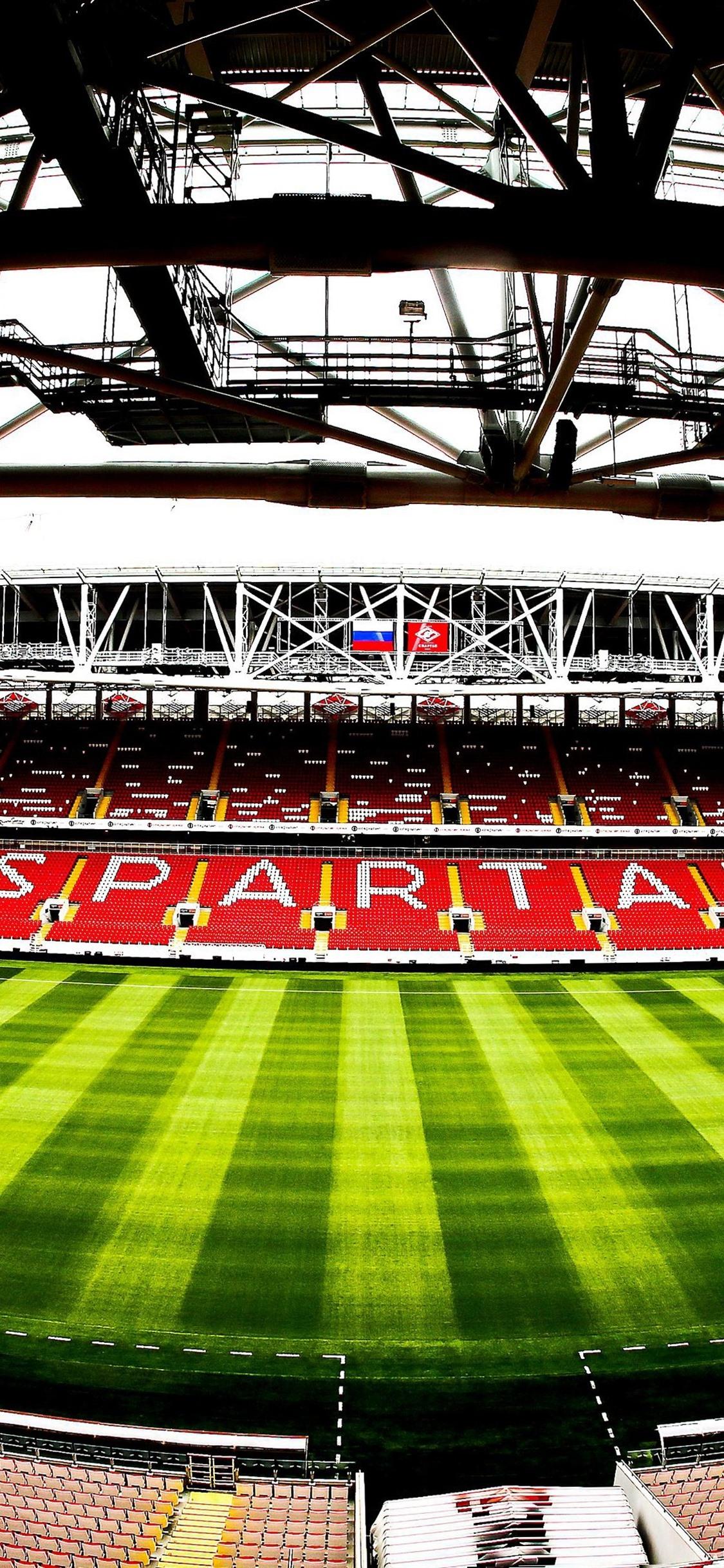Spartak Stadion Fussball Moskau Russland 1125x2436 Iphone