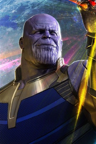 iPhone Wallpaper Thanos, Avengers: Infinity War