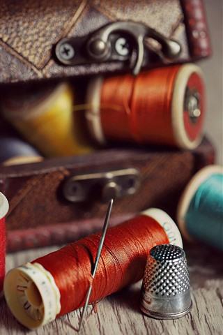 iPhone Wallpaper Thread, needle