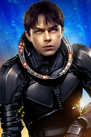 iPhone Wallpaper Valerian and the City of a Thousand Planets, Science fiction movie