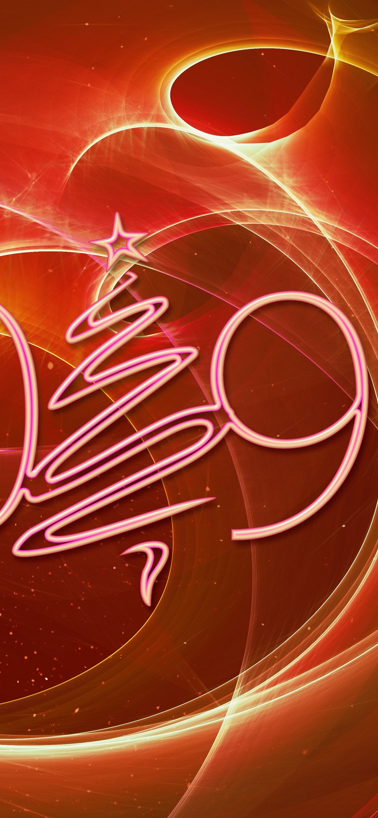 2019 New Year Christmas Tree Creative Design Abstract