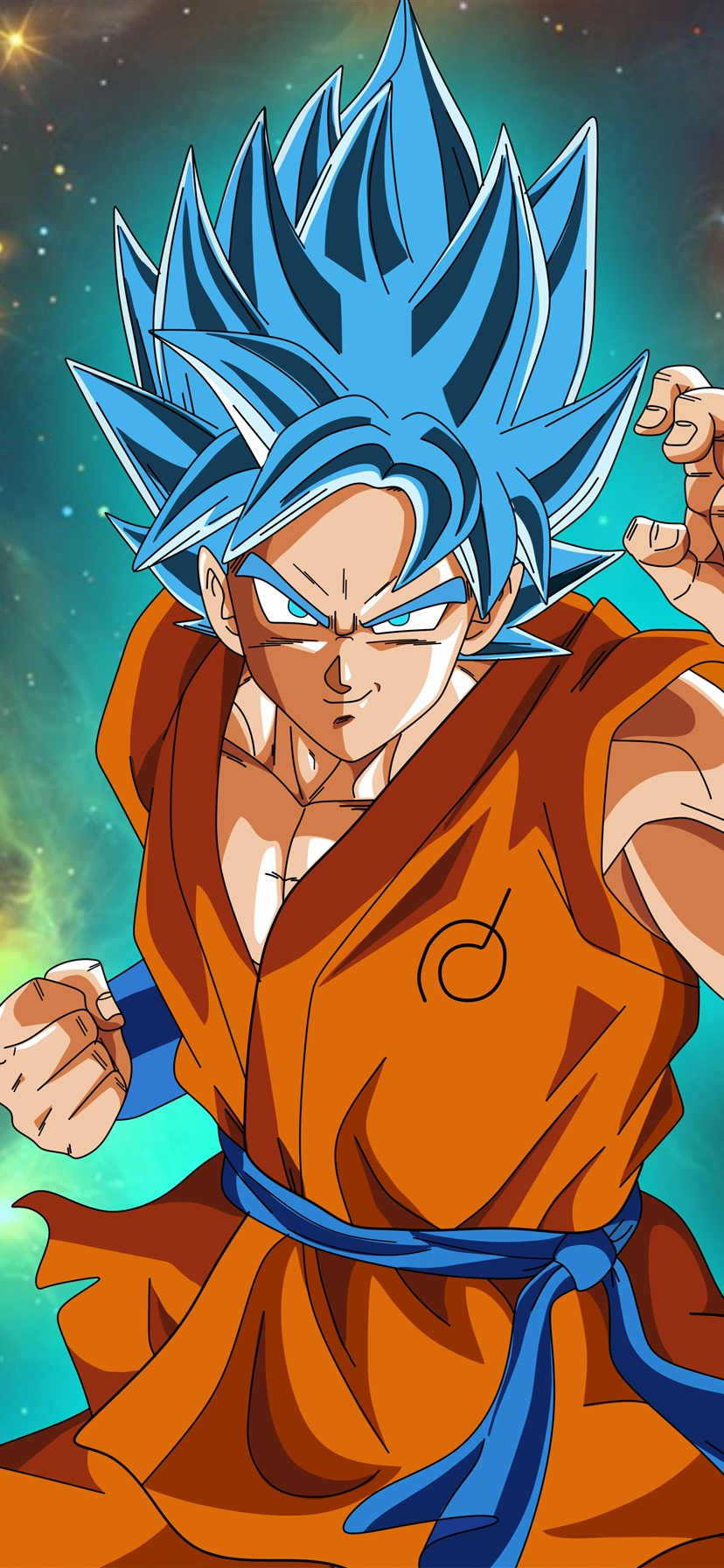 Wallpaper Dragon Ball Super Goku Anime 7680x4320 Uhd 8k