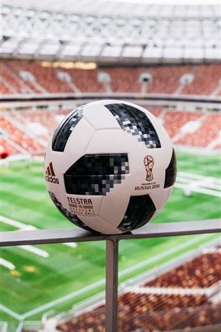 iPhone Wallpaper Football, fence, stadium