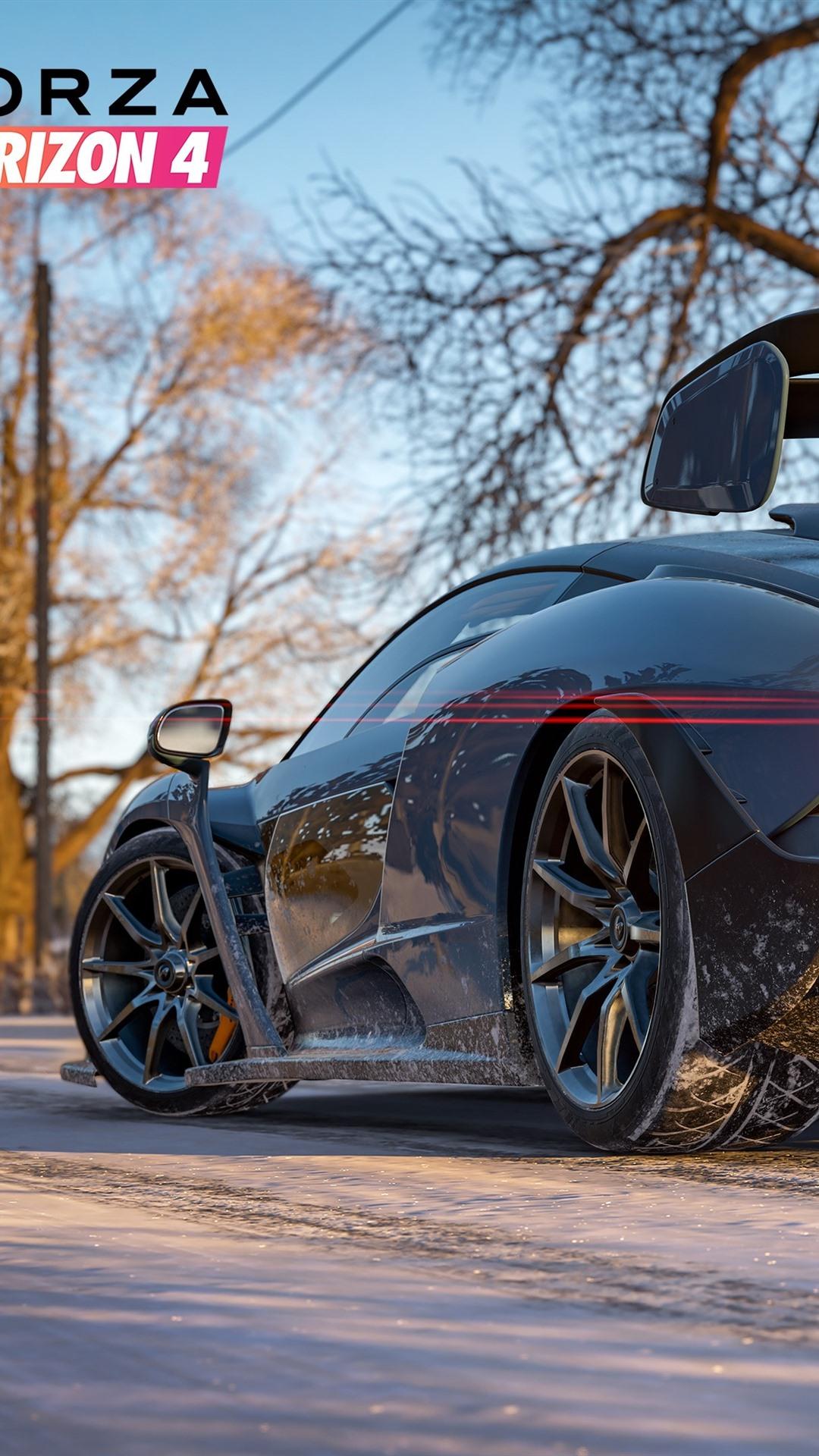 Wallpaper Forza Horizon 4, McLaren supercar rear view ...
