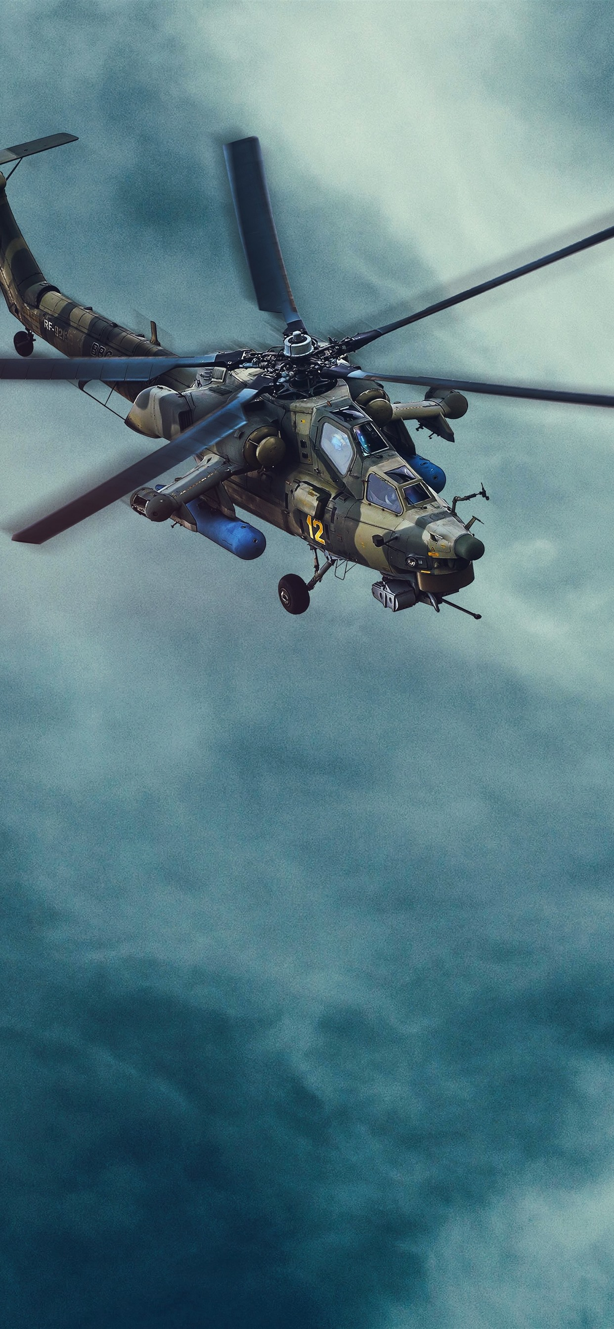 Wallpaper Helicopter Blue Sky 7680x4320 Uhd 8k Picture Image