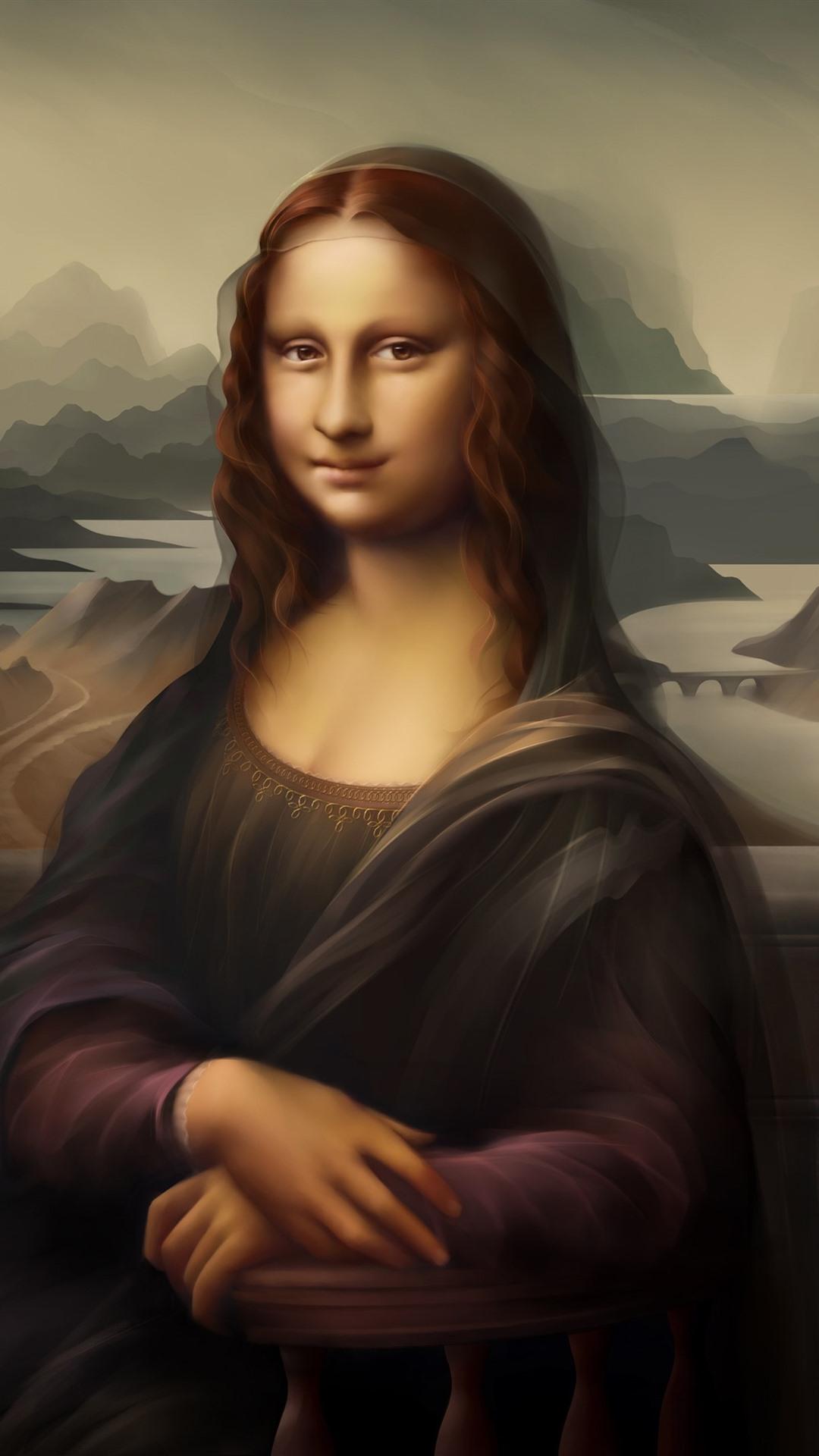 壁紙 モナリザ 笑顔 デジタルアート写真 2880x1800 Hd 無料の