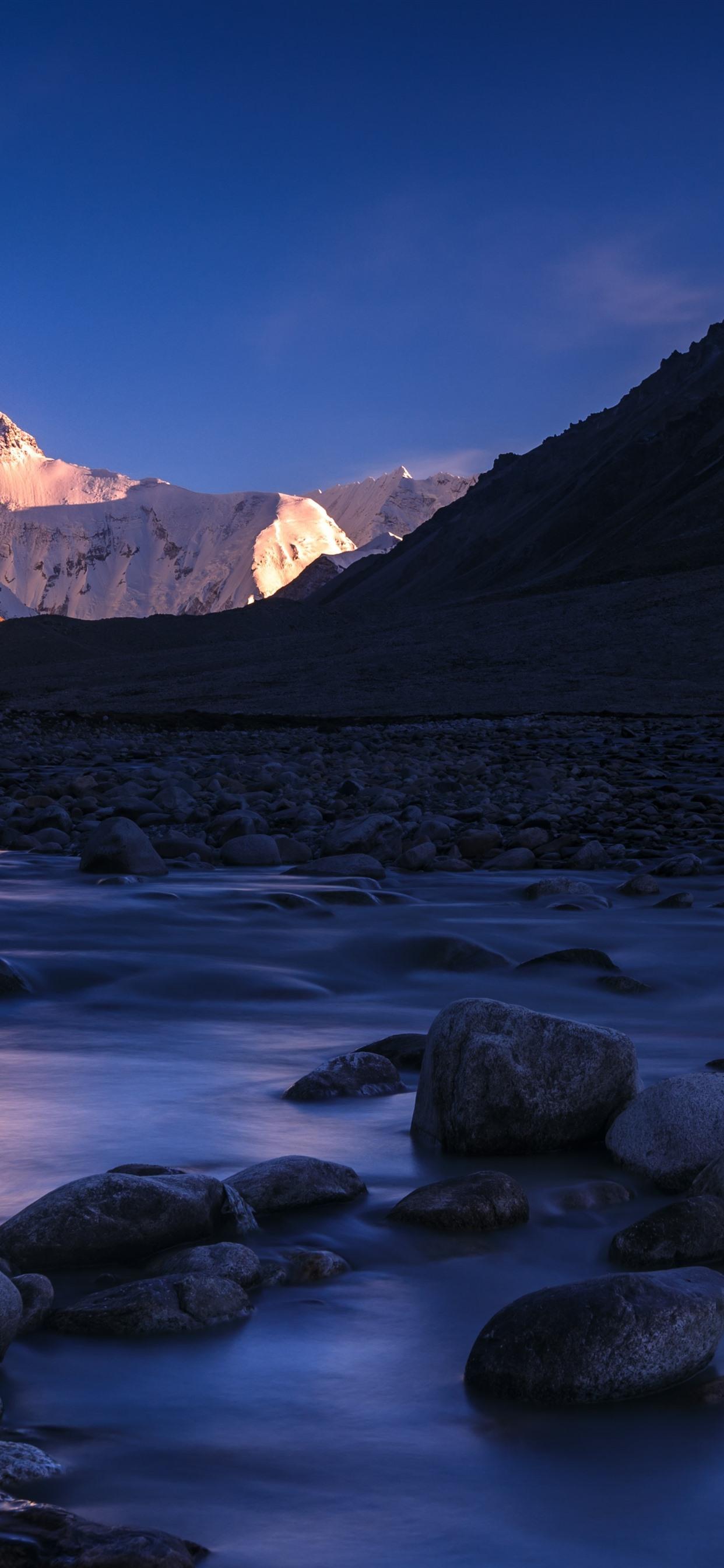 Mountains Stones River Nature Landscape 1242x2688 Iphone Xs Max