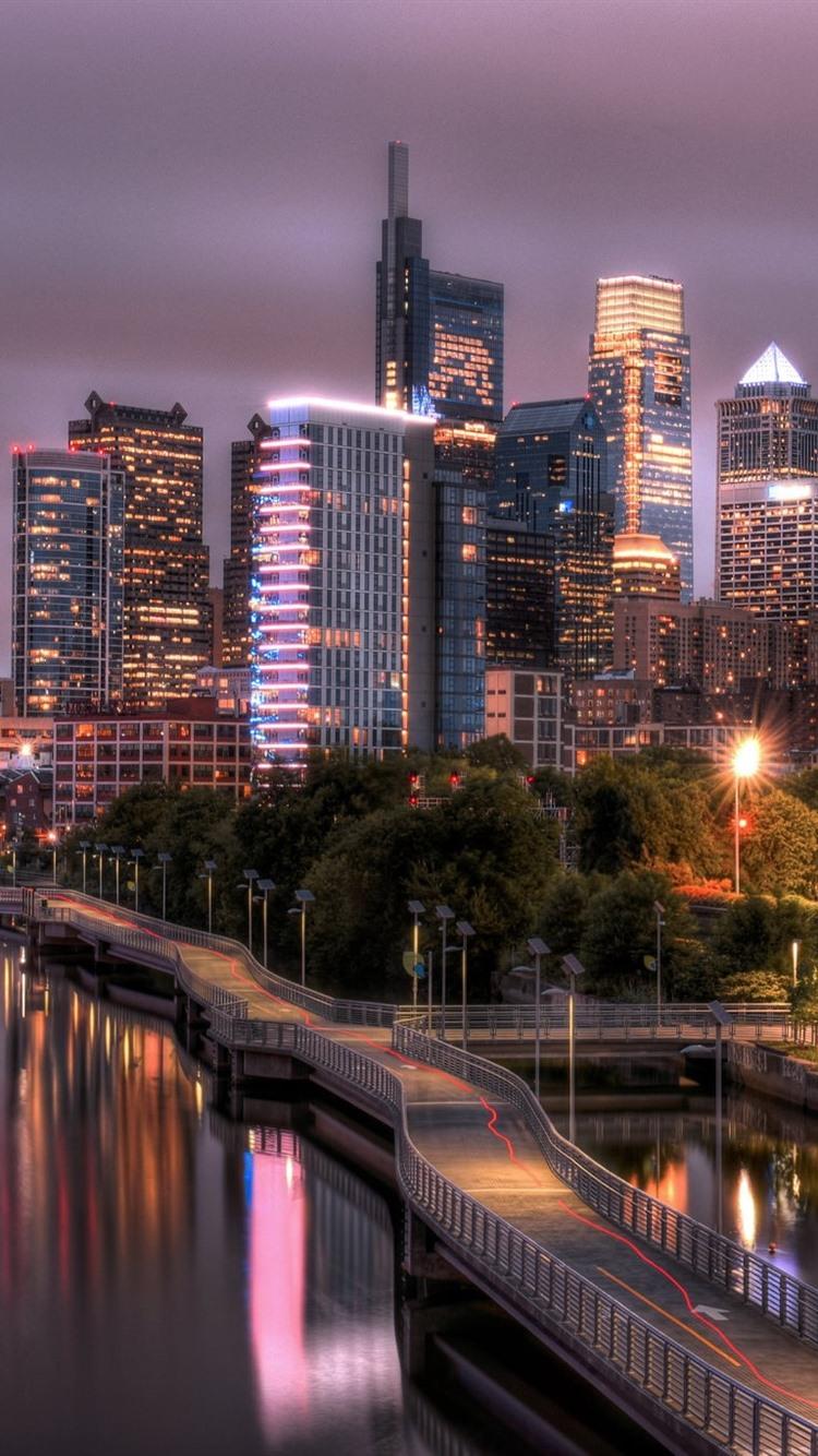 Обои филадельфия, philadelphia, ночь, сша. Города foto 11