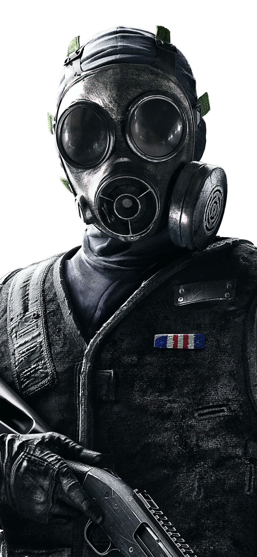 Wallpaper Rainbow Six Siege Soldier Gas Mask 3840x2160 Uhd 4k Picture Image