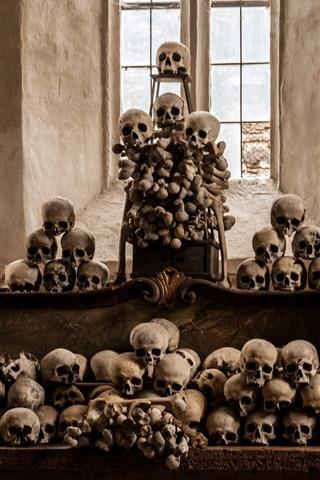 iPhone Wallpaper Skulls, horror