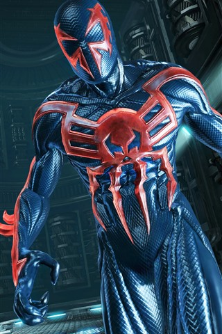 iPhone Wallpaper Spider-Man: Edge of Time, video game