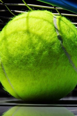 iPhone Wallpaper Tennis ball, green