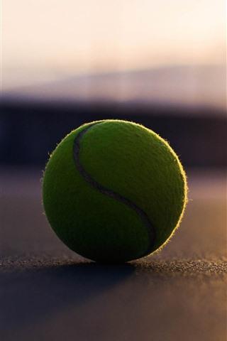 iPhone Wallpaper Tennis ball, sunshine, shadow