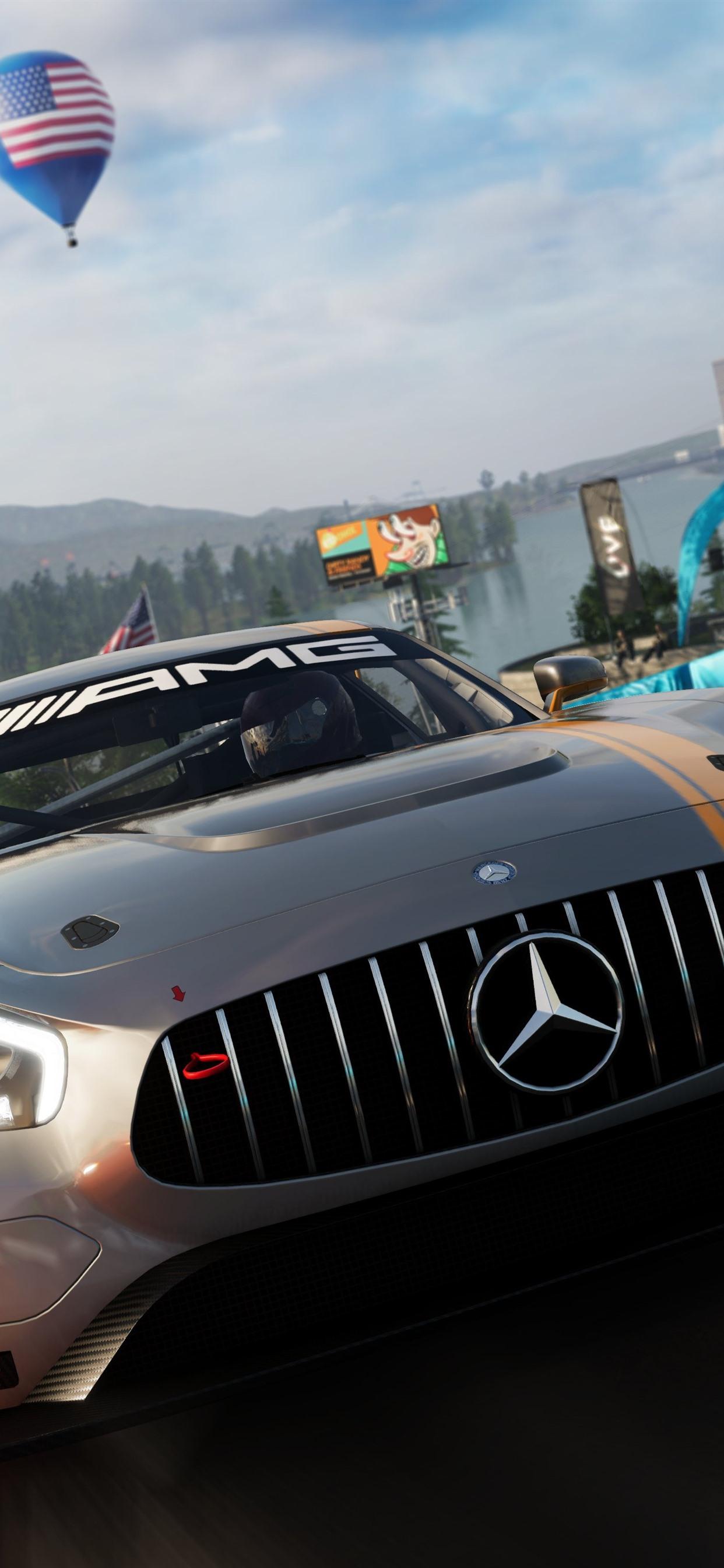 The Crew 2 Mercedes Benz Supercar 1242x2688 Iphone Xs Max Wallpaper