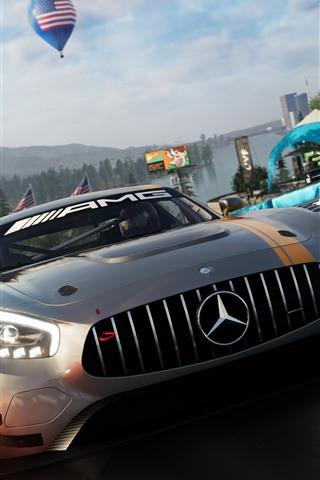 iPhone Papéis de Parede A tripulação 2, supercarro da Mercedes-Benz