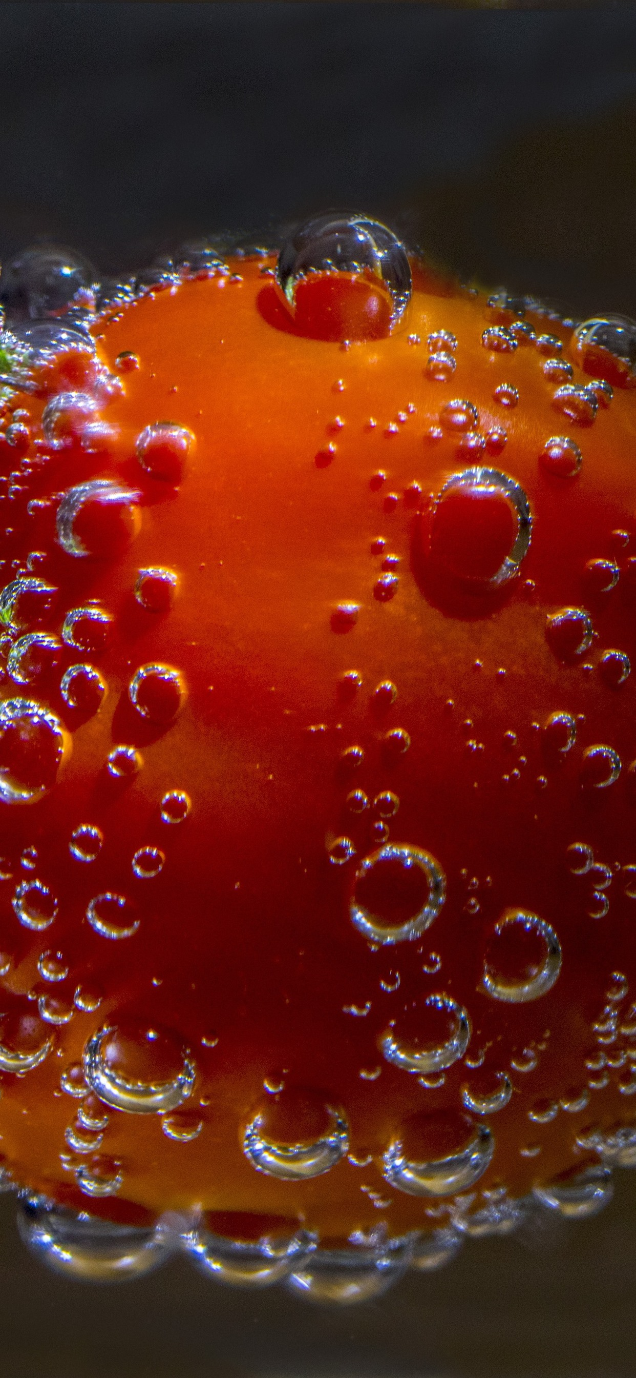 Tomato Water Bubbles 1242x2688 Iphone Xs Max Wallpaper