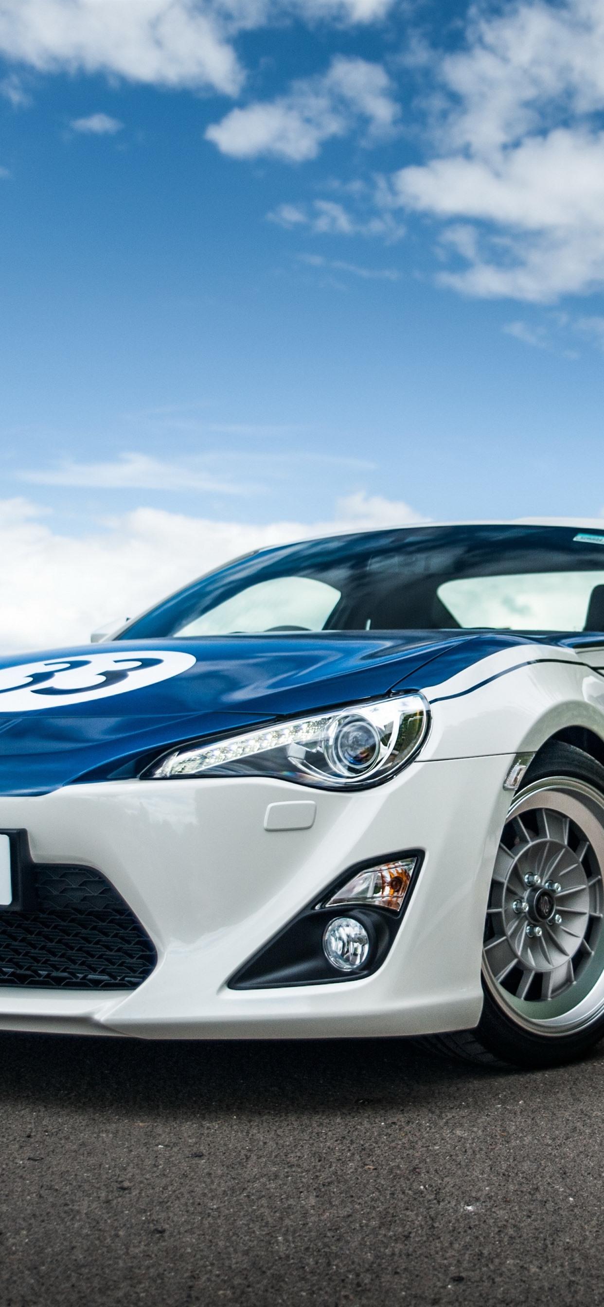 トヨタgt86スポーツカー正面図 1242x26 Iphone 11 Pro Xs Max 壁紙 背景 画像