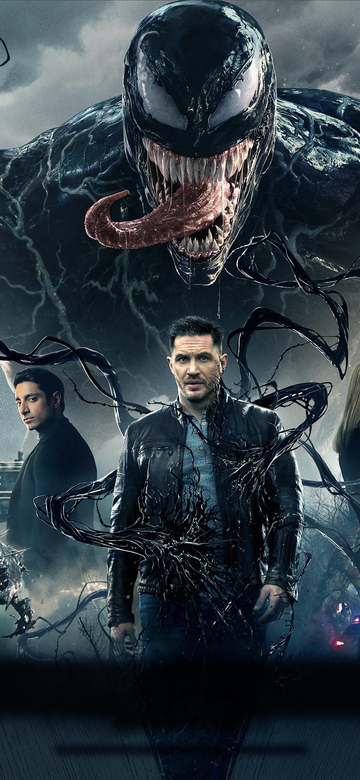 Venom 2018 Movie 1242x2688 Iphone Xs Max Wallpaper Background