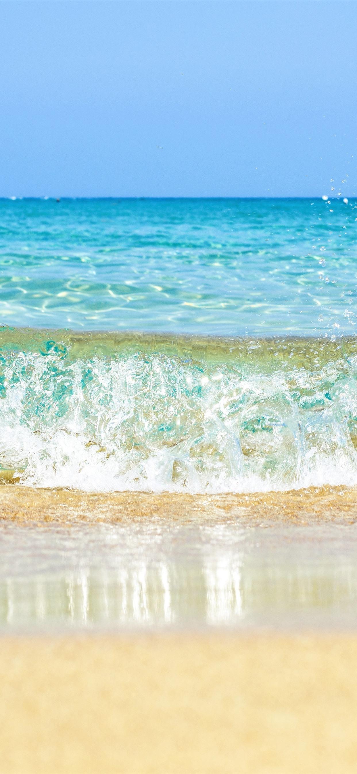 壁紙 水スプラッシュ ビーチ 海 5120x2880 Uhd 5k 無料の
