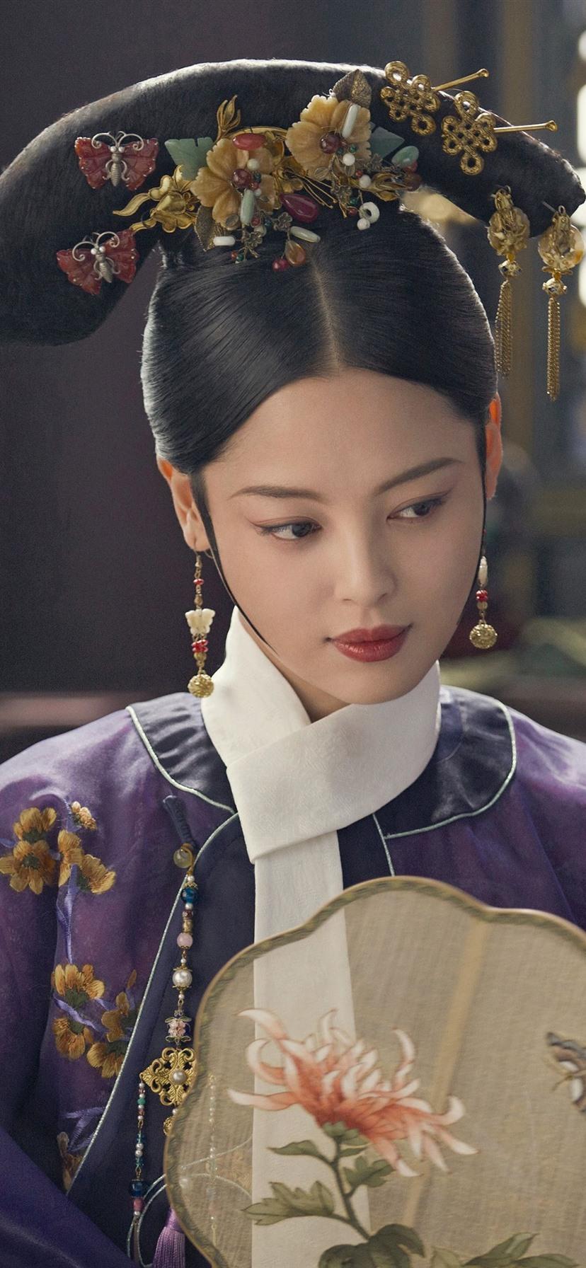壁纸 辛芷蕾,金玉妍,嘉贵妃,如懿传 3840x2160 UHD 4K 高清壁纸, 图片, 照片