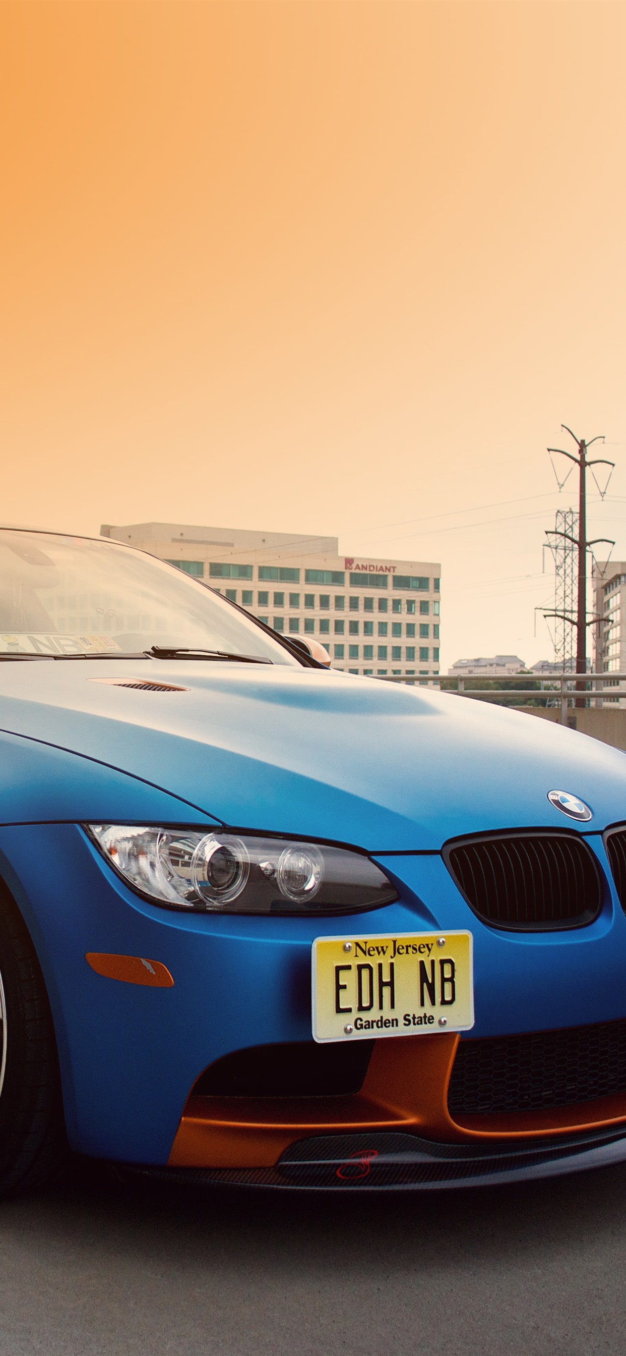 Wallpaper Bmw E92 M3 Blue Car City Road 3840x2160 Uhd 4k