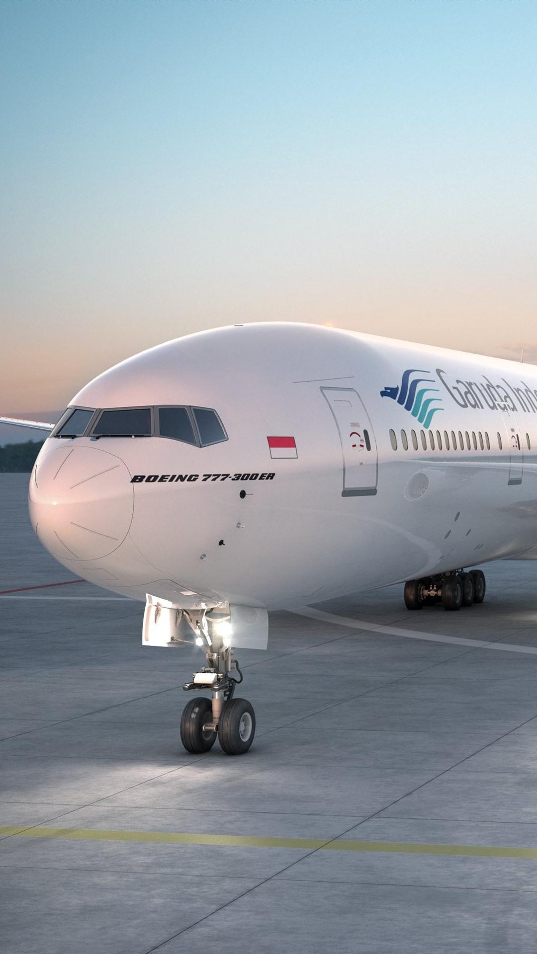 Обои 777, пассажирский, Самолёт, авиалайнер, боинг, boeing, 300. Авиация foto 7