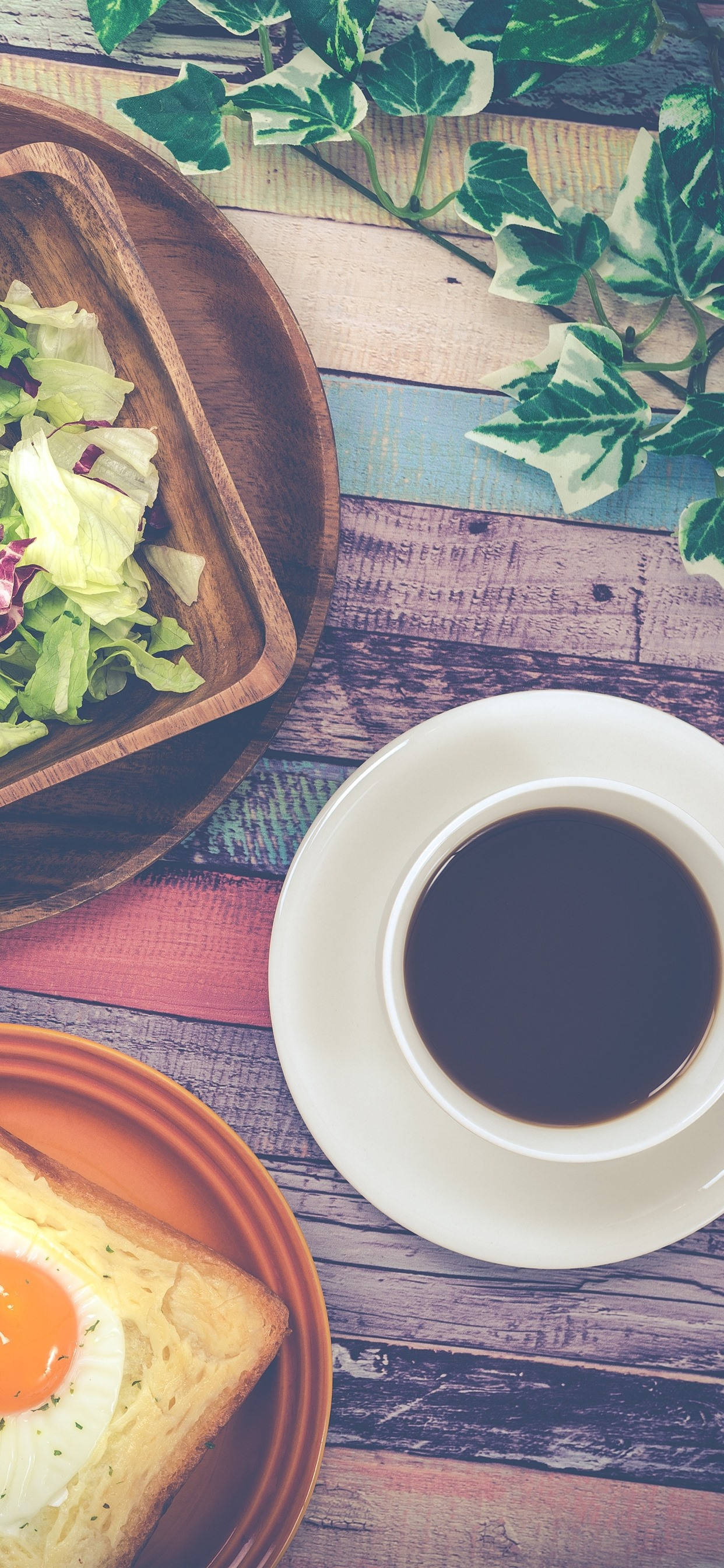 朝食 パン コーヒー キャベツ 1242x2688 Iphone 11 Pro Xs Max 壁紙