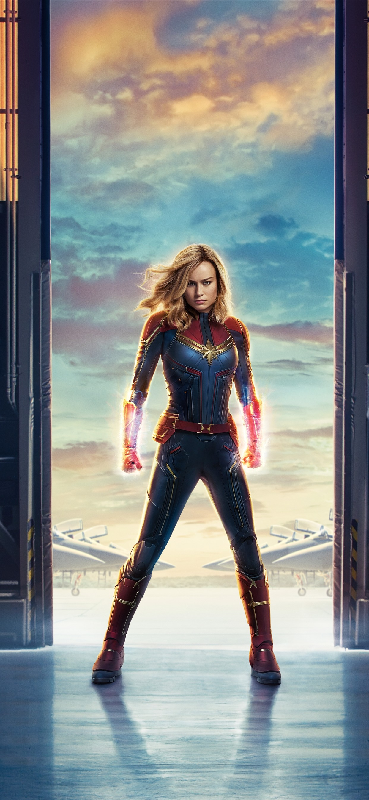 Captain Marvel Brie Larson Marvel Movie 2019 1242x2688 Iphone 11 Pro Xs Max Wallpaper Background Picture Image