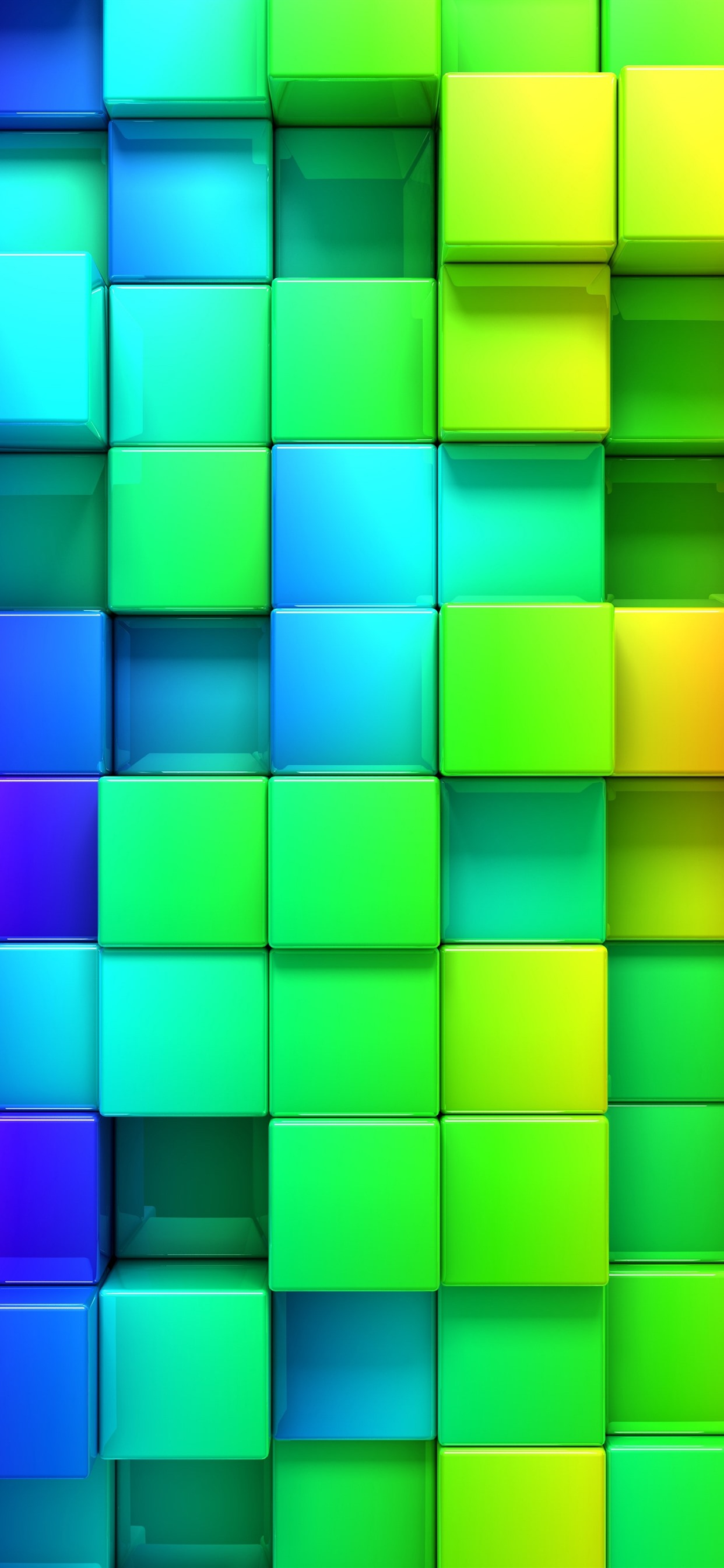 Iphone Colorful 3d Wallpaper