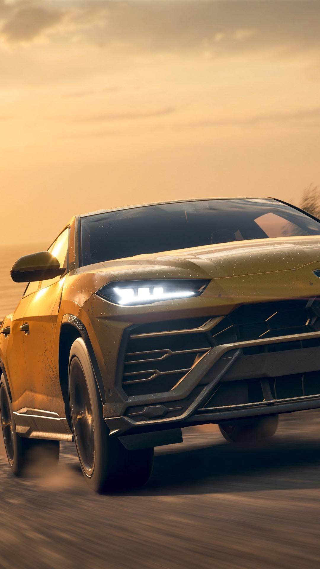 Forza Horizon 4 Lamborghini Urus Suv Car Front View 1080x1920