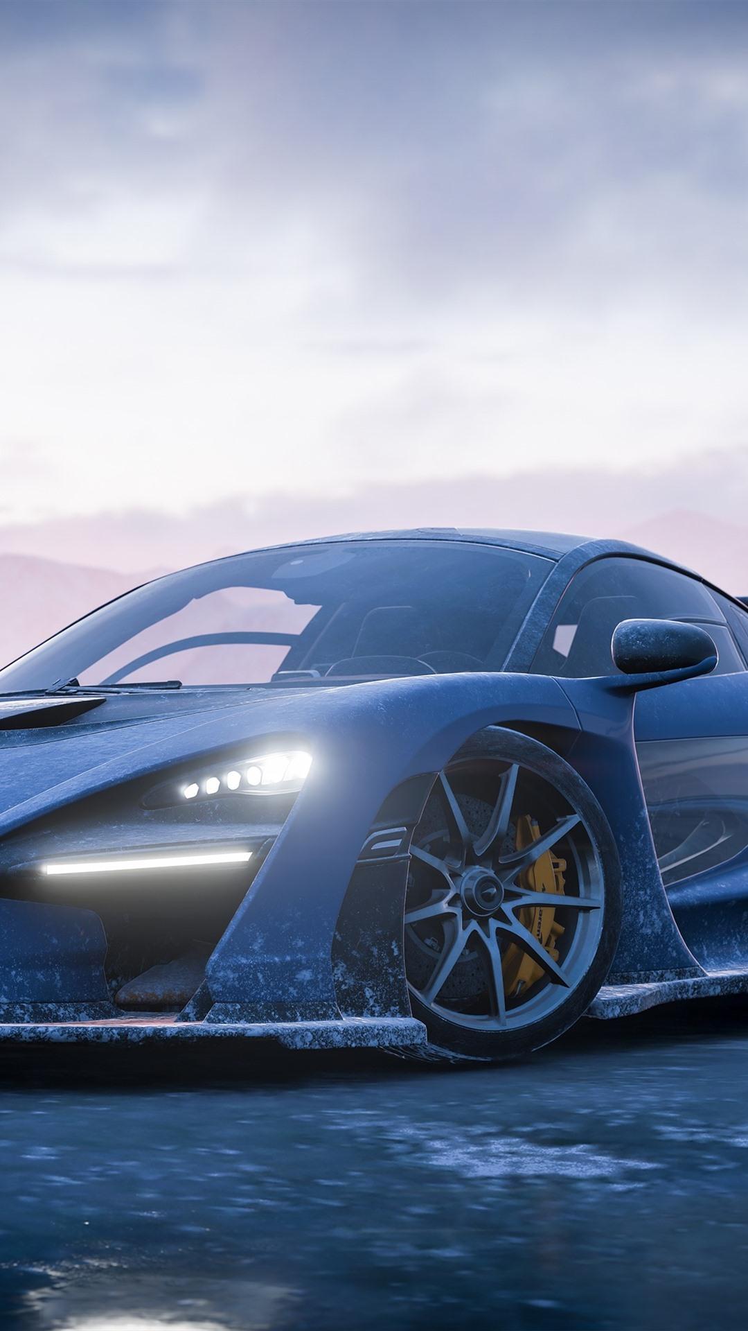 Wallpaper Forza Horizon 4, McLaren supercar front view ...