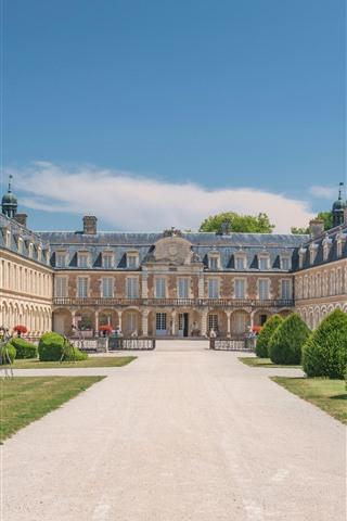 iPhone Wallpaper France, Palace Pierre-de-Bresse