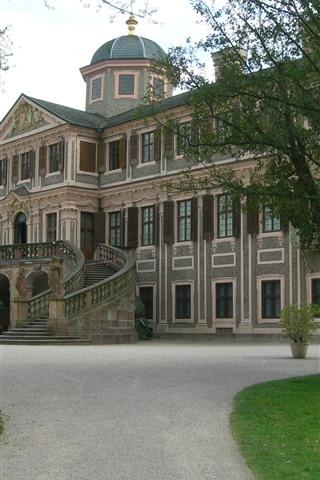 iPhone Fondos de pantalla Alemania, Rastatt, Palace
